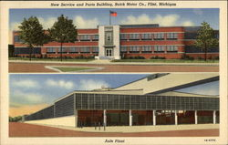New Service and Parts Building, Buick Motor Co