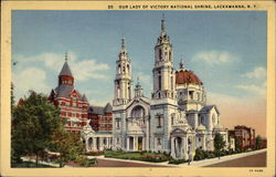 Our Lady of Victory National Shrine Postcard