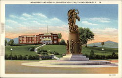 Monument and Moses-Ludington Hospital