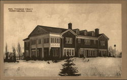 Residence of Thomas Tracy Postcard