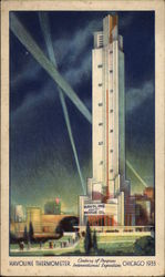 Havoline Thermometer Postcard