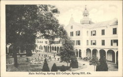 Main Building, Spring Hill College