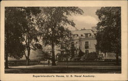U.S. Naval Academy - Superintendent's House