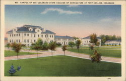 Campus of the Colorado State College of Agriculture