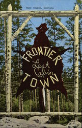 Frontier Town - Lost Cabin