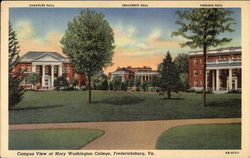 Campus View of Mary Washington College