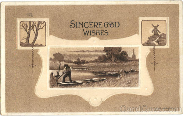 Sincere Good Wishes Windmills
