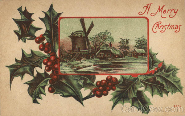 A Merry Christmas Windmills