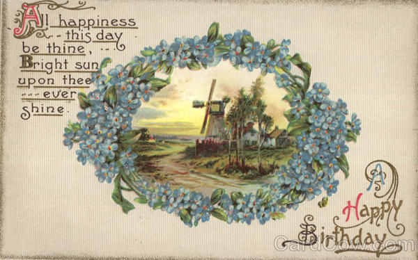 A Happy Birthday Windmills
