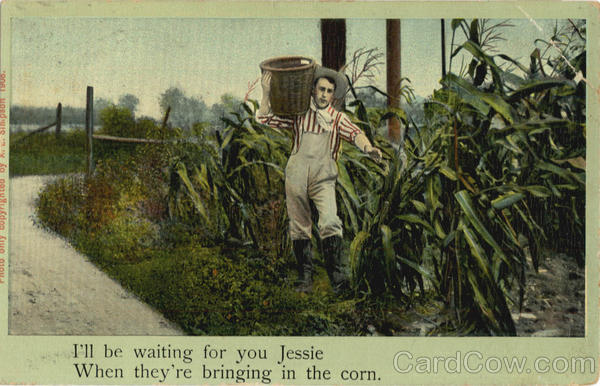I'll be waiting for your Jessie when they're bringing in the corn