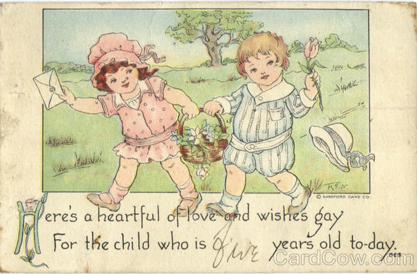 Here's a heartful of love and wishes gay Children