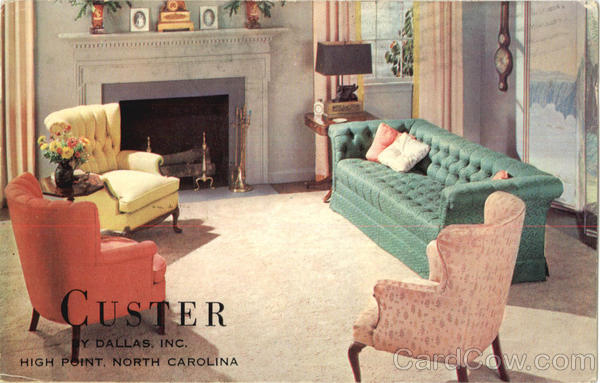 Custer By Dallas Inc, High Point North Carolina Advertising