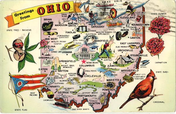 Ohio Tourist Map Maps – Ohio Tourist Attractions Map