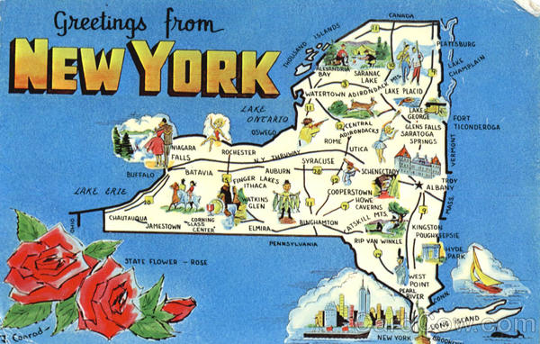 new york tourist map scenic ny