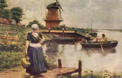 The Dutch Milkmaid