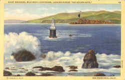 Giant Breakers, Mile Rock Lighthouse