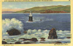 Gaint Breakers, Mile Rock Lighthouse