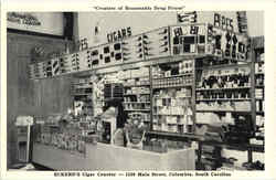 Eckerd's Cigar Counter, 1530 Main Street Postcard