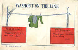Washout On The Line Telegraph