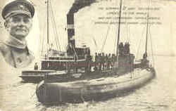 The German WWI U Boat Deutschland