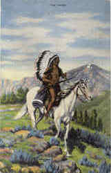 The Chief on Horseback