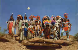 Indians In Ceremonial Dress