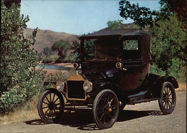 1915 Ford Coupelet Cars