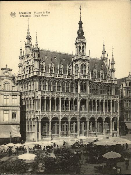 King's House Brussels Belgium Benelux Countries