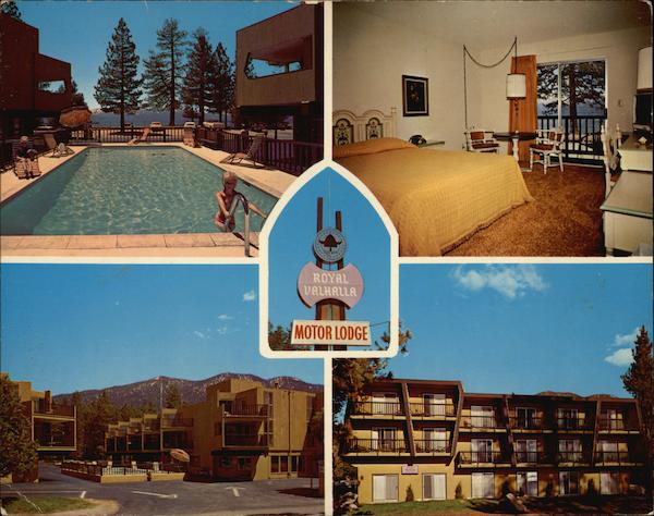 Royal Valhalla Motor Lodge Lake Tahoe California