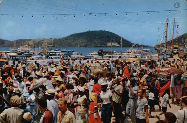 Carnival Time St. Thomas Virgin Islands Caribbean Islands