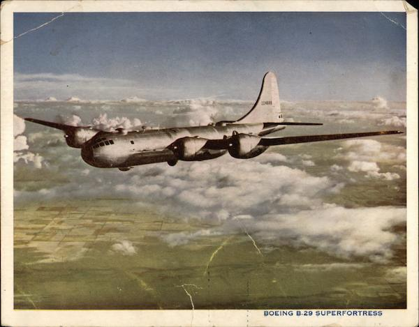 Boeing B-29 Superfortress Aircraft