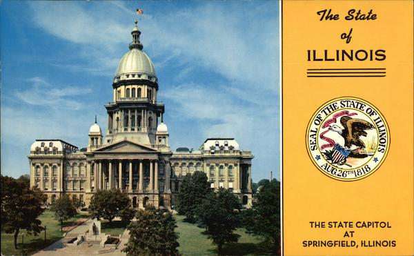 The State Capitol Springfield Illinois
