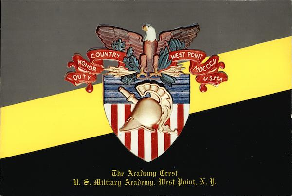 The Academy Crest - United States Military Academy West Point New York