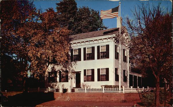 Abe Lincoln's Home Springfield Illinois
