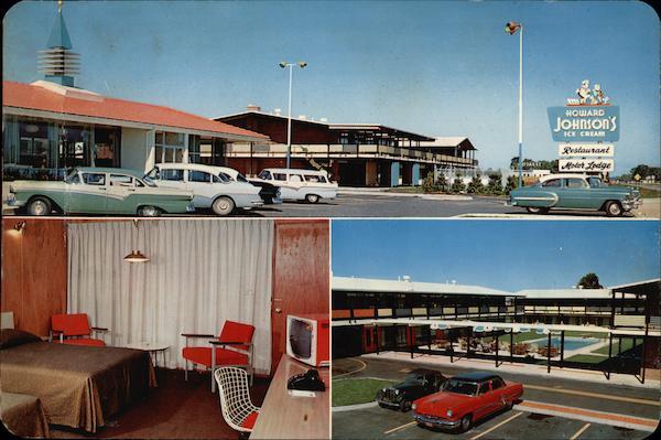 Howard Johnson 39 S Motor Lodge Toledo Maumee Oh