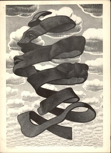 Omhulsel by M. C. Escher 1955 Art