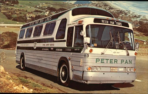 Peter Pan Bus Tours Springfield Massachusetts