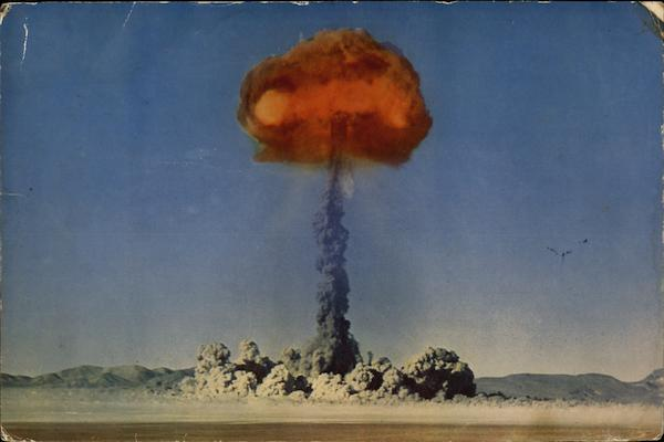 Atomic Explosion - Frenchman's Flat or Yucca Flat Nevada
