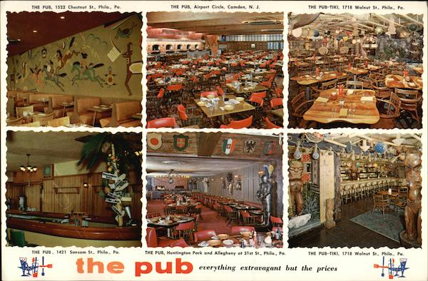 The Pub - Everything Extravagant but the Prices Philadelphia Pennsylvania