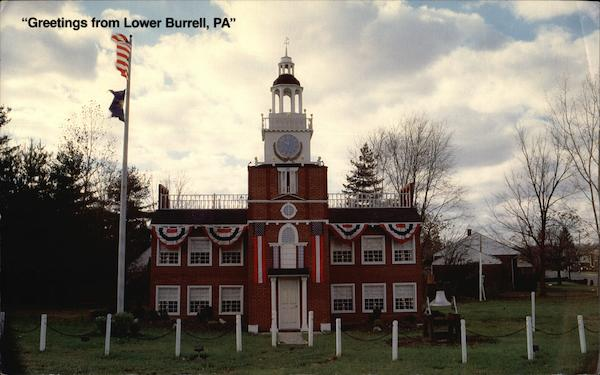 School Project - Independence Hall Lower Burrell Pennsylvania