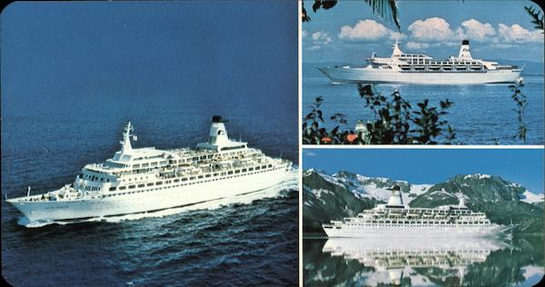 Island Princess, Sun Princess, Pacific Princess Cruise Ships