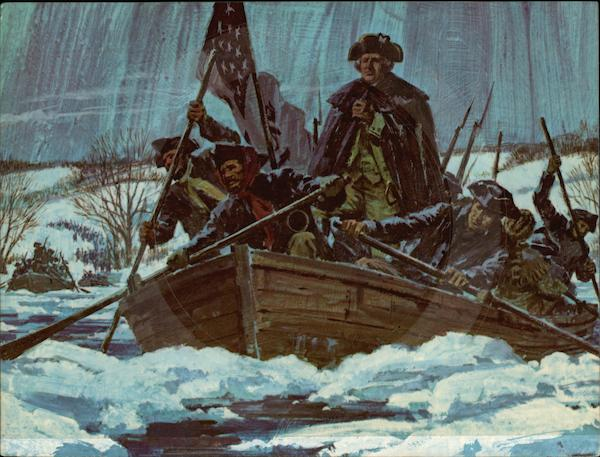 Washington Crossing the Deleware Patriotic