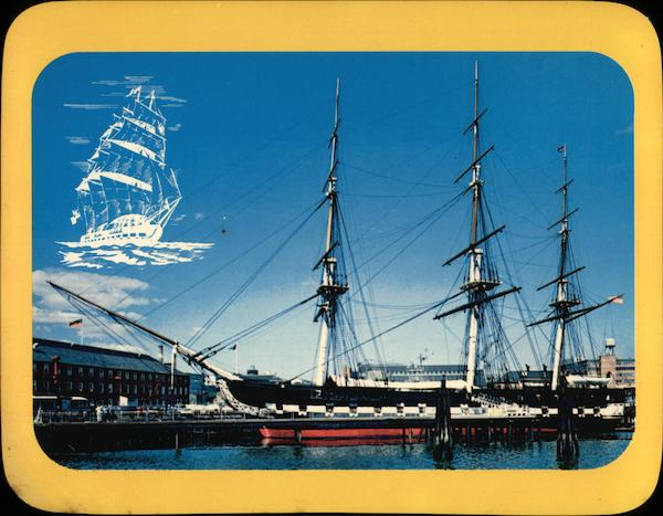 U.S.S. Constitution Old Ironsides Navy Yard Boston Massachusetts