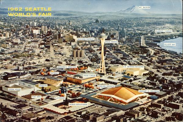 1962 Seattle World's Fair Washington