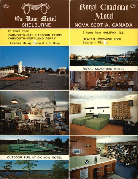 Ox Bow Motel & Royal Coachman Motel Shelburne Canada