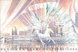 1990 Kentucky Derby Festival Poster