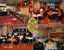 Andrews Non-Commissioned Officers' Open Mess Large Format Postcard