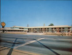 Holiday Motor Lodge Large Format Postcard