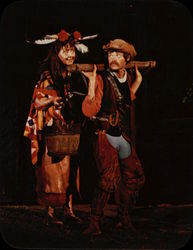 The Lost Colony - Agona and Old Tom Large Format Postcard
