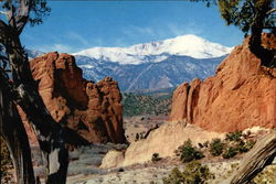 Pikes Peak, from Garden of the Gods